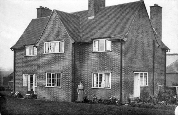 Mardleybury Farmhouse, back view, c.1914 | Photo credit: JWM Wallace