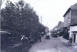 Market Day in Buntingford, early 20th century | Hertfordshire Archives & Local Studies