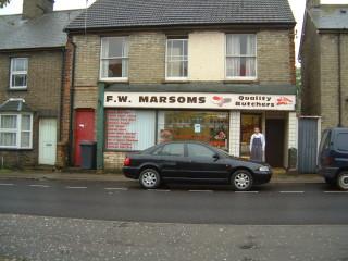 Marsom's Butchers Queens Road | James Robinson