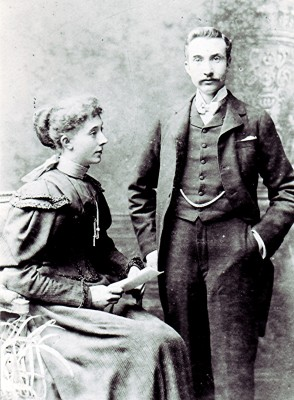 Bob and Laura Matthews around the turn of the 20th century. | Geoff Webb