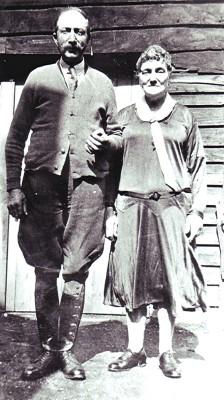 Bob Matthews with his second wife. | Geoff Webb