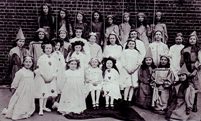 May Day Celebrations c.1910 | Geoff Webb