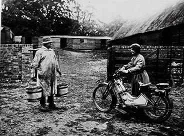 May Walker visiting a local farm | Geoff Webb