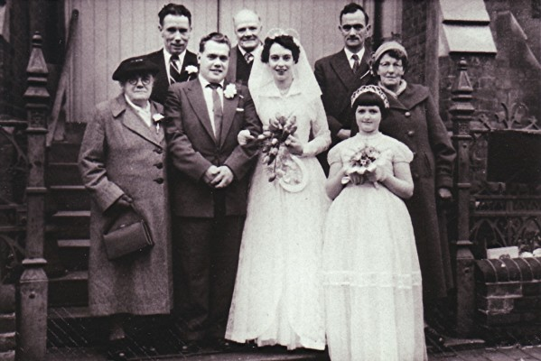 The marriage of Bill Mears to Margaret Newbery | Geoff Webb
