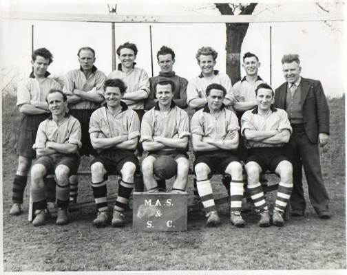 Metcalf Rovers Football Team, Chesnunt | Ray Rutterford