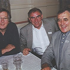 Left to right: Mick Miles, Mick Chatfield and Trevor 'Tommy' Coleman | Geoff Webb