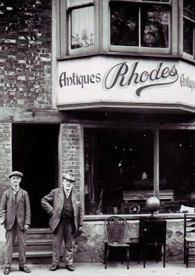 Johnny Millard and Mr. Rhodes | Geoff Webb