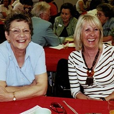 Joan Mimer (left) and Christine Coote. | Geoff Webb