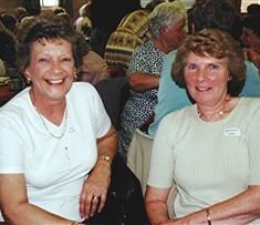 Joan Mimer (left) and Margaret Webb. | Geoff Webb