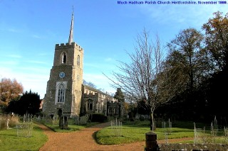 Much Hadham Church | B J Gravestock