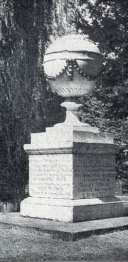 Monument to Hugh Myddelton, Great Amwell | Hertfordshire Archive & Local Studies