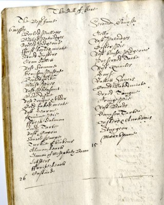 Accounts for the funeral feast | Hertfordshire Archives and Local Studies