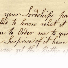 Here is an extract from a letter to Lord and Lady Cowper from their governess, Mary Green regarding her unfair dismissal. She begs to know what she has done and hopes for a good reference, 1782 | Hertfordshire Archives and Local Studies, Ref: D/EP F310/52