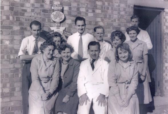 The staff of Meadows Shop, Hoddesdon