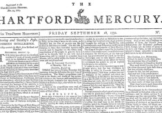 First edition of the Hertford Mercury