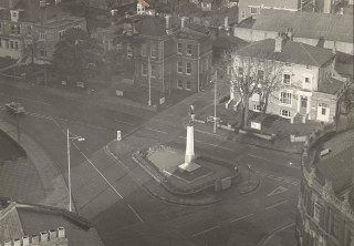 War Memorial - taken from the top of an office block under construction (leaning over the parapet with a friend holding my belt) | Terry Askew