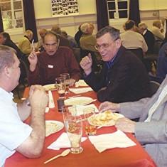 (Left to right): Eric Neville Jnr., Derek Crawley, Tony Neville, Eric Neville Snr. | Dennis Bigham