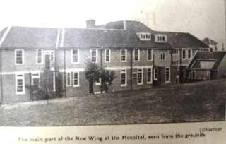 New wing of the hospital | Herts and Essex Observer 20 May 1933, page 7