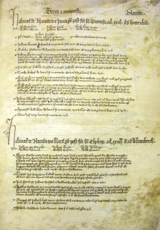 Norton Court Roll (65514) | Hertfordshire Archives and Local Studies
