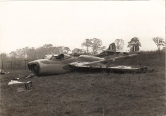 Crashed Aircraft - St Albans - 1955