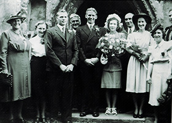 The marriage of Norman Nunn to Doris Jefferies | Geoff Webb