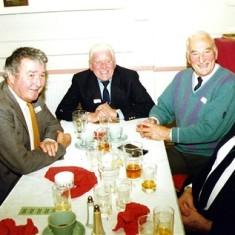 Left to right: Ray Webb, 'Snowy' Nunn, Ken Marshall, Jeff Nunn. | Geoff Webb