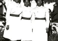Three young students/nurses