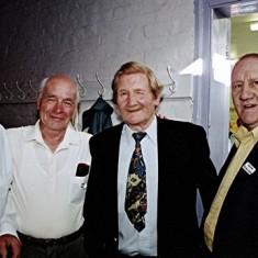 Left to right: 'Jippy' O'Hara, Brian Males, Aubrey and Doug Robinson | Geoff Webb