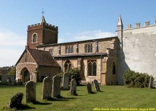Offley Church | B J Gravestock