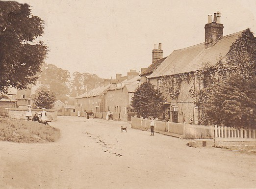 A view of the village in 1906