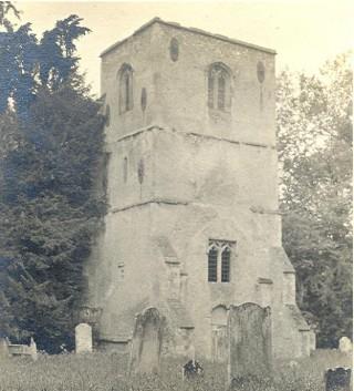 Old Church, Thundridge c1910 | Hertfordshire Archives & Local Studies