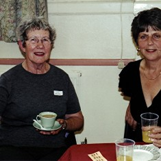 Lily Orchard (left) and June Smith. | Geoff Webb