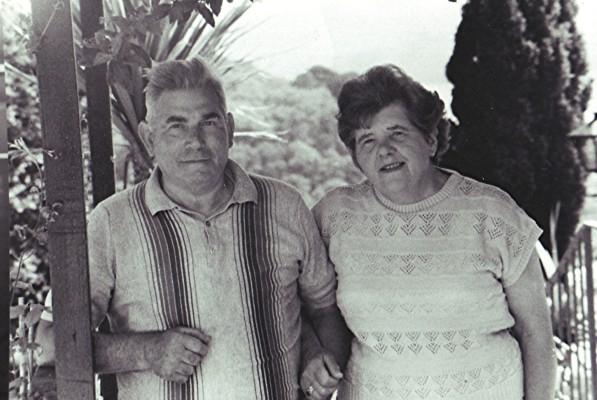 Robert & Olwen Ostler   Geoff Webb
