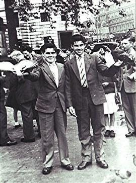 Brian and Norman Ostler   Geoff Webb