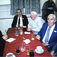 Left to right: Darley Webb, Brian Ostler, 'Jip' O'Hara, Jim and Dick Dalton.   Geoff Webb