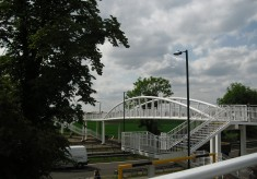 Opening of A10 Footbridge 19 May 2011