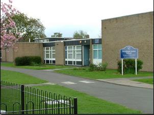 School, main entrance   Brookland School