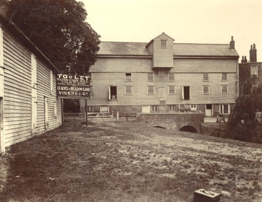 The mill in 1910 | Hertfordshire Archives and Local Studies