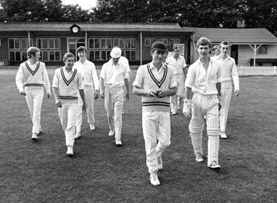Cheshunt Grammar School 1st XI | from Keith Marshall's Facebook page