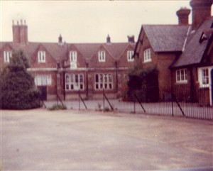 C.1983 L. the 1640 building R. part of the St Mary's Girls School | Jane Ruffell