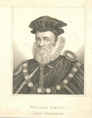 William Cecil, Lord Burleigh | Hertfordshire Archive & Local Studies