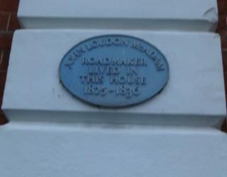 Blue plaque on Montagu House | Nicholas Blatchley