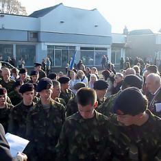 Cheshunt war memorial remembrance service 2011