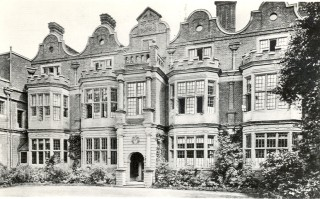 Rawdon House west front | Hertfordshire Archives & Local Studies
