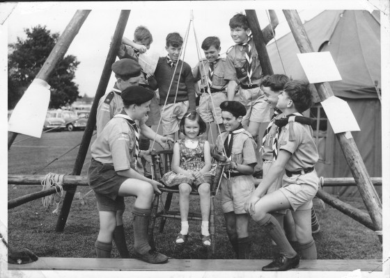 Scouts at Cheshunt Grammar School | Nicholas Blatchley