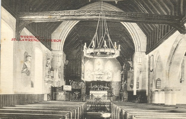 St Laurence's Church interior | Hertfordshire Archives & Local Studies