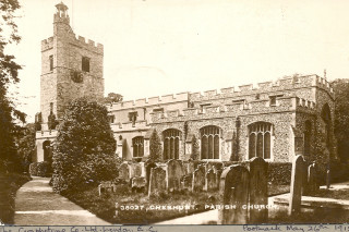 St Mary's Church, 1915 | Hertfordshire Archives & Local Studies