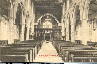 St Mary's Church nave, undated | Hertfordshire Archives & Local Studies