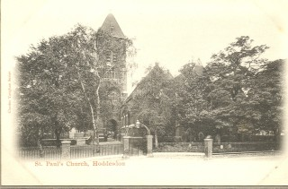 St Paul's Church, undated | Hertfordshire Archives & Local Studies