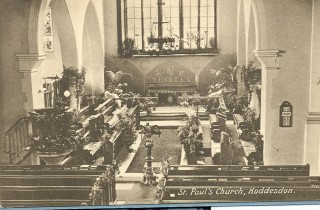 St Paul's Church interior | Hertfordshire Archives & Local Studies